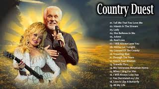 Kenny Rogers, Dolly Parton Greatest Hits ♡ Country Duets Male and Female ♡ Romantic Country Songs