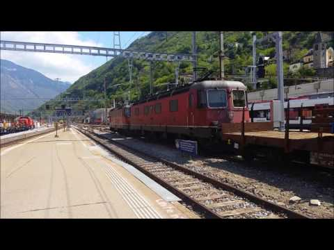 A Stop in Bellinzona, Switzerland 4 May 2016