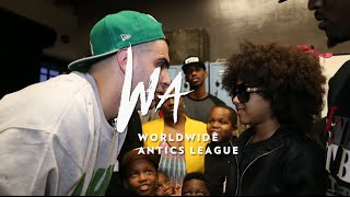 Dizaster Vs. Sunlyt Official Trailer #1 (2015) - Worldwide Antics League