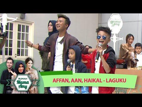 Semua Bergoyang! Afan feat Aan dan Haikal [LAGUKU] - Rumah Mama Amy (13/7)