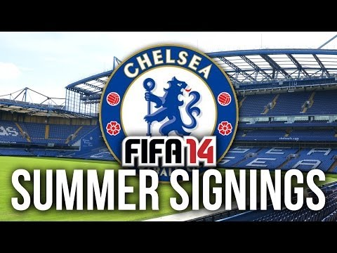 FIFA 14 Career Mode: Summer Signings - CHELSEA!