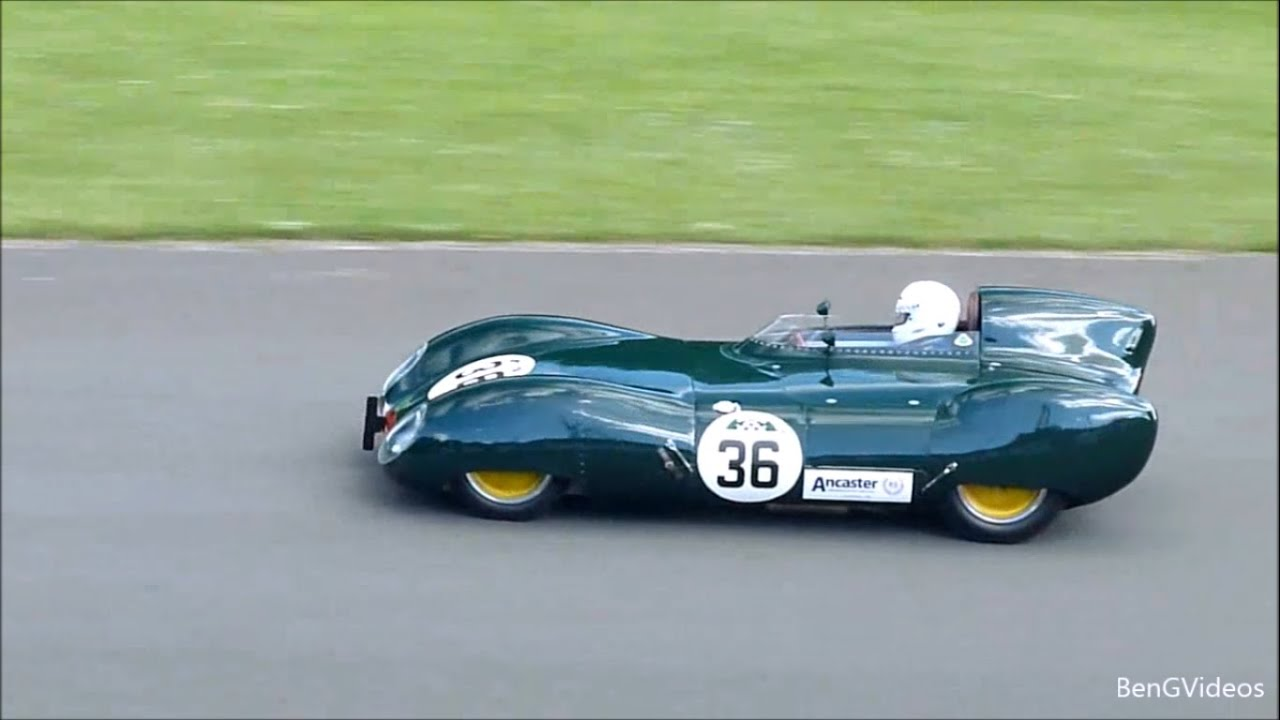 Classic Lotus Race Car Sounds - YouTube