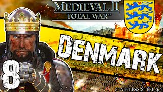 Stainless Steel [6.4] Medieval 2 Total War: Denmark Campaign #8 ~ Empty Castle!
