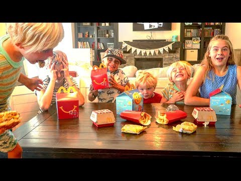 🍟 5 Kids React To Eating McDonald's For The Very First Time 😂