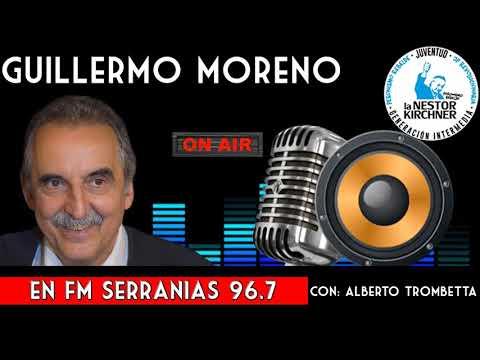 Guillermo Moreno Con Alberto Trombetta  01/02/20