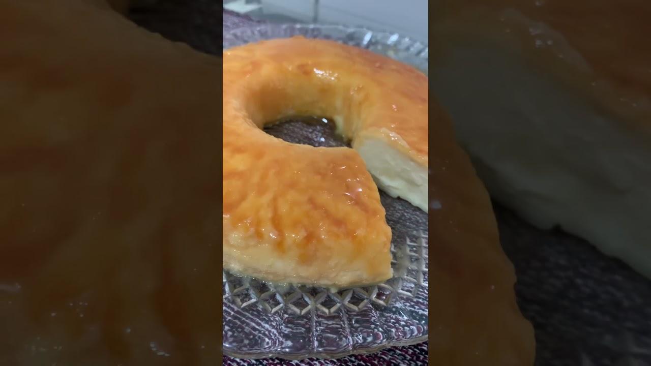 Pudim sem ovo, sem gelatina e sem forno! Receita completa no canal!