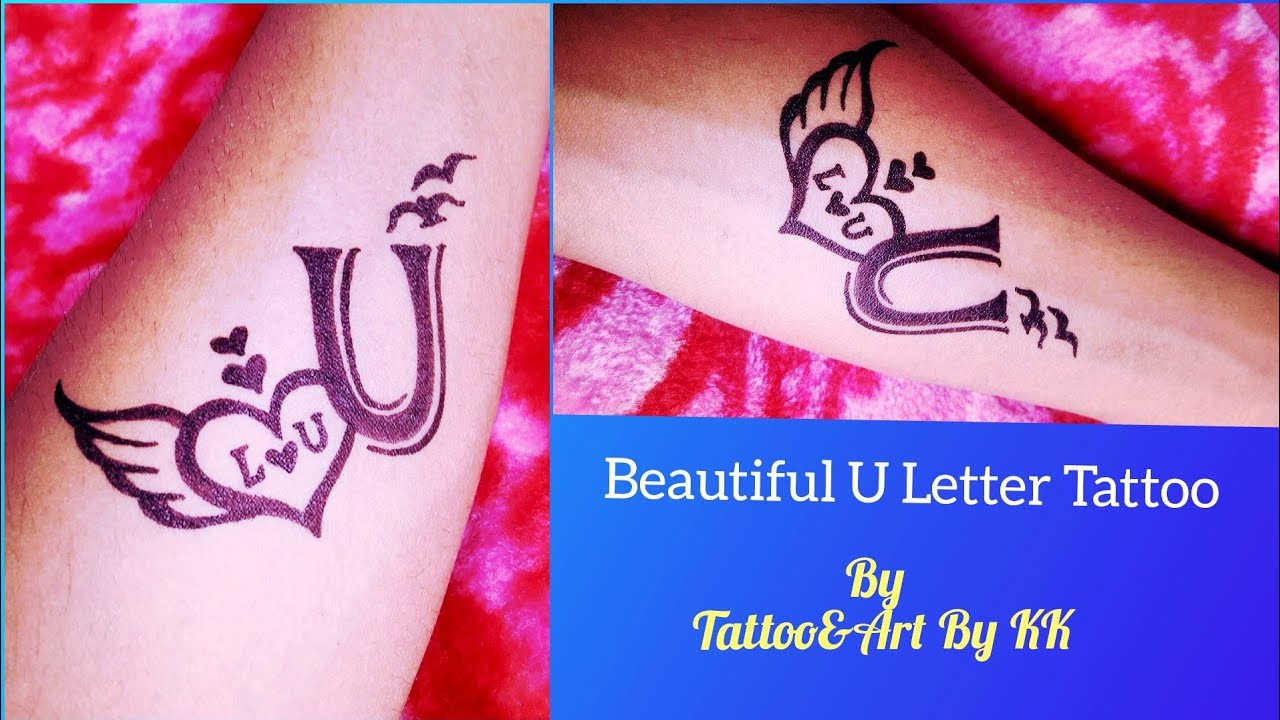 How To Make Beautiful U Letter Tattoo On Hand Youtube Learn about tattoos, discover their symbolic meaning, find inspiration, collect the ones you like. how to make beautiful u letter tattoo on hand
