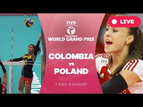 Colombia v Poland - Group 2: 2017 FIVB Volleyball World Grand Prix
