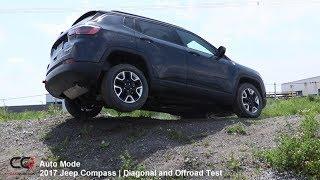 4x4 Diagonal Test 2017-2018 Jeep Compass Trailhawk | Review: Part 8/10