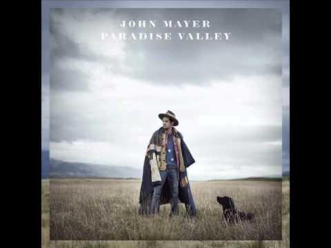 John Mayer - Dear Marie Lyrics on screen