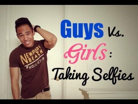 how to take guy selfies