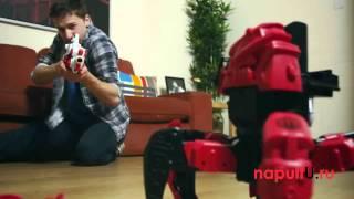 Радіокерований Робот-павук Дум Резорами (синій) , стріляє ракетами, веде контактний бій