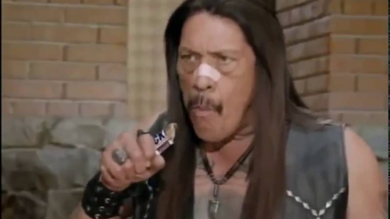 Snickers Super Bowl Commercial Danny Trejo and the brady bunch HD, 720p