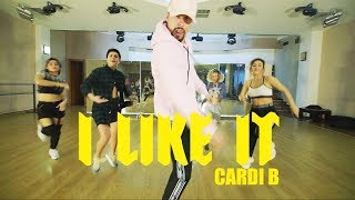 I like it-Cardi B Bad Bunny & J Balvin | Irakli Fifia Choreography Video