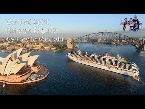 Vanuatu Cruise 17/10/17