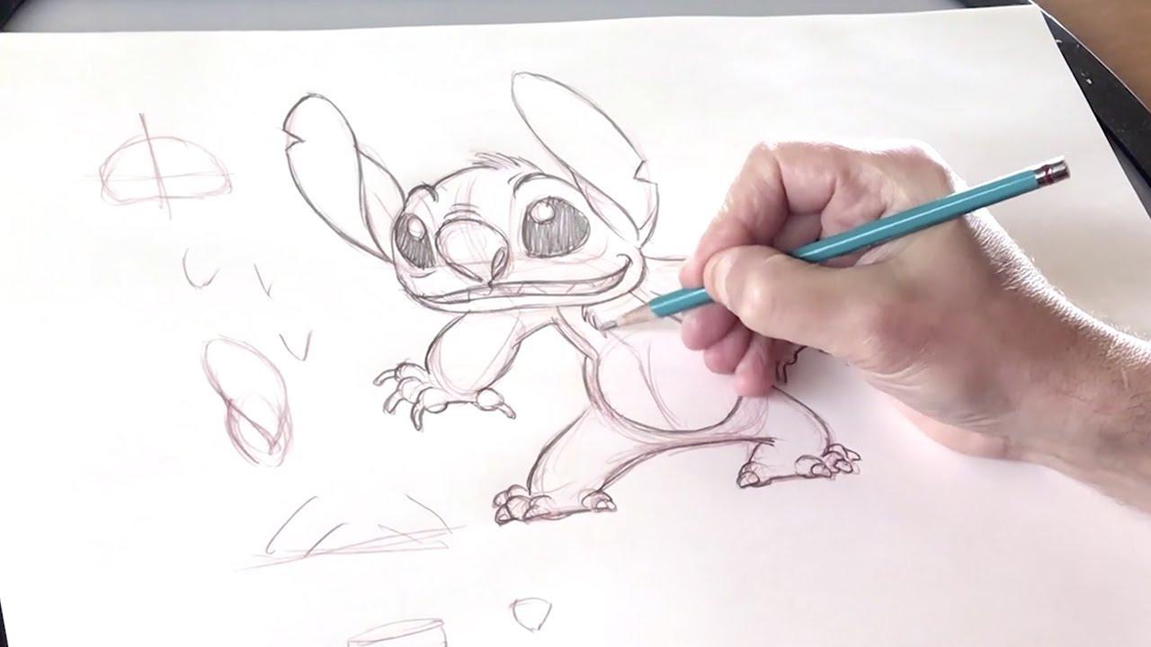 Disney Animation lance sa web-série de tutoriels de dessin