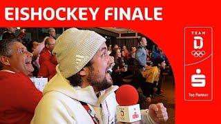 Reaktion auf Halbfinalsieg der deutschen Eishockey Mannschaft gegen Kanada | Team Deutschland