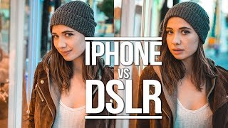 iPhone XS Max vs 8000$ Camera! Can you tell the difference?