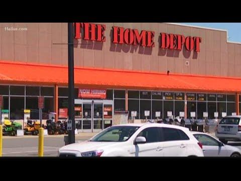 Surveillance Camera Captures Clinton Home Depot Robbery Youtube