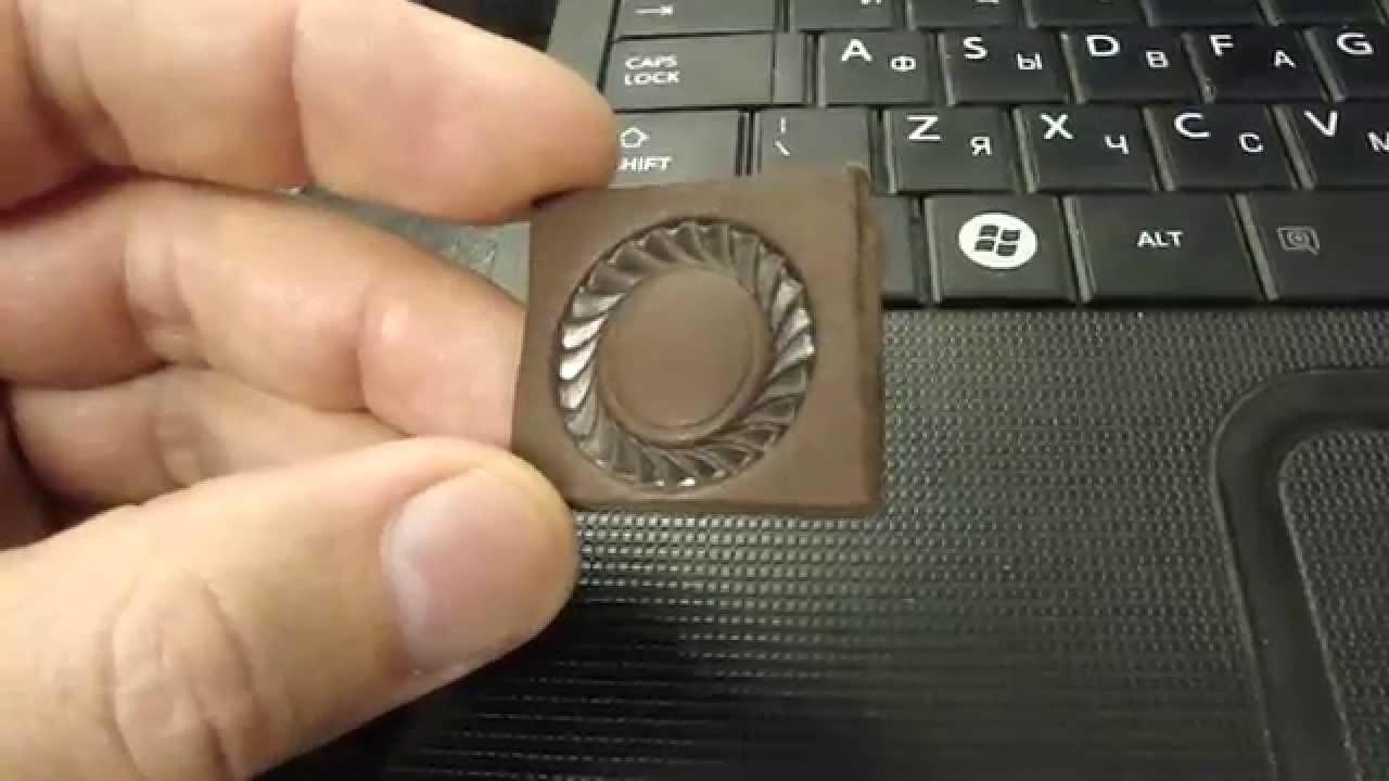 Оттиски самодельных штампов, инструмент для тиснения кожи. - YouTube