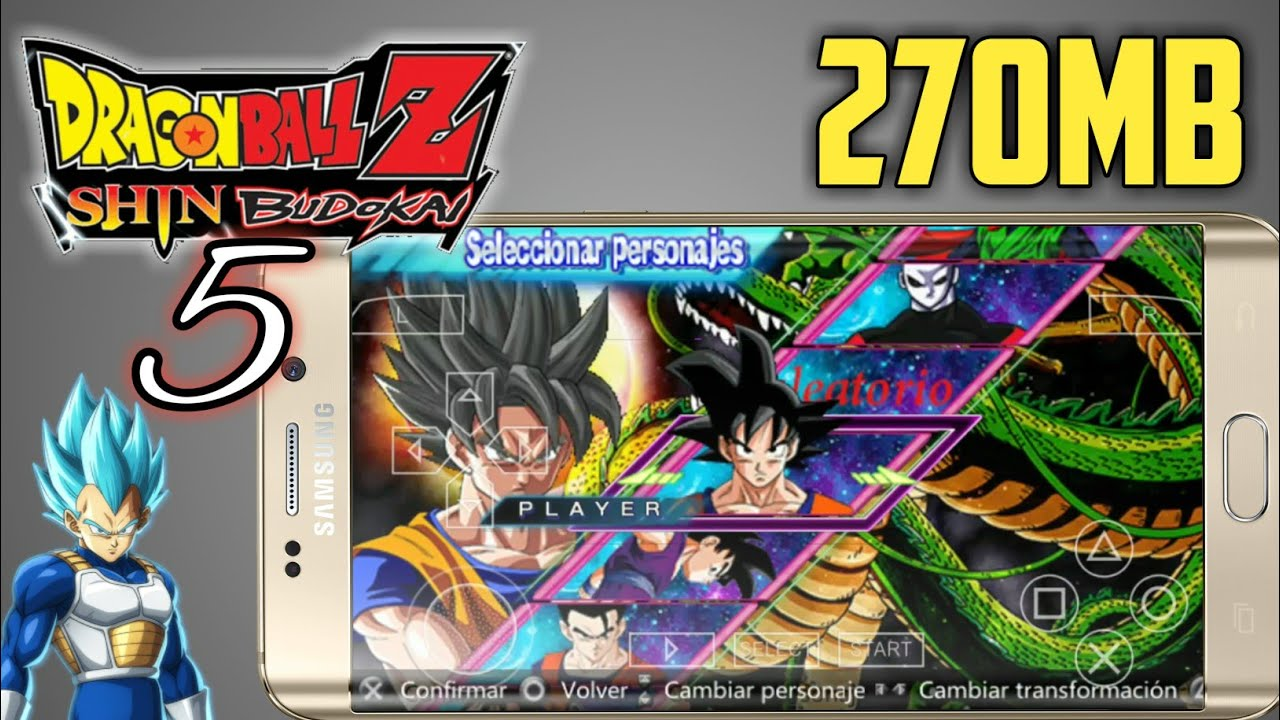 Download Dragon Ball Z Shin Budokai 5 V6 TTT on Android