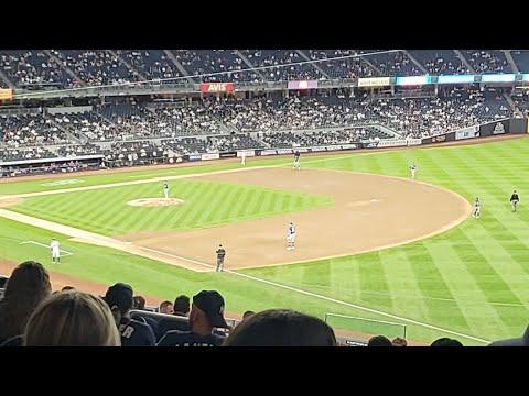 @Yankee Stadium: Texas Rangers Vs NY Yankees 09/22/21 8th Inning