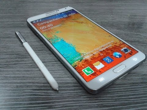 Samsung Galaxy Note 3 (N9005 -  Unboxing E Primeiras Impressões)
