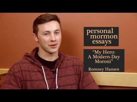 My Hero: A Modern-Day Moroni - Essay Intro