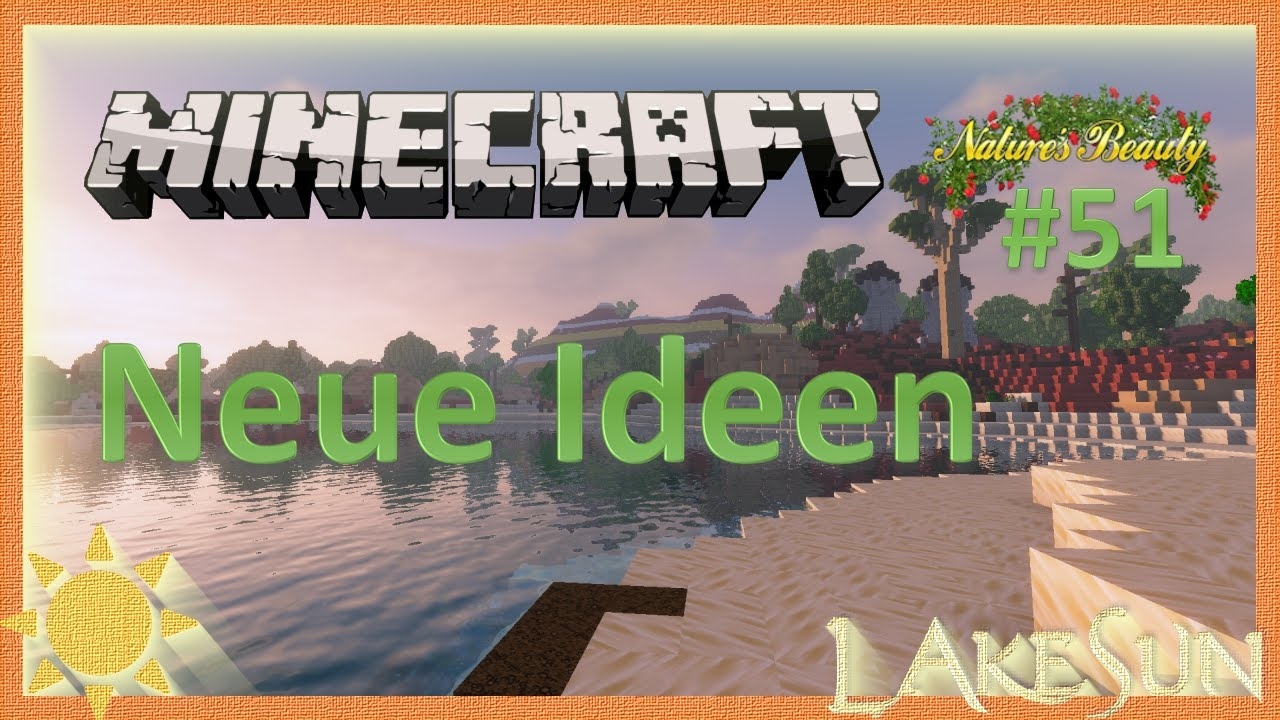 Minecraft Natures Beauty 12 ⛏️   Neue Ideen • Minecraft Deutsch • German  Gameplay