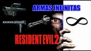 Resident Evil 2 Conseguir ARMAS Infinitas + ESCENARIOS Ocultos