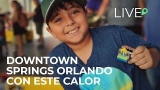Downtown Springs Orlando Con Este Calor En Vivo
