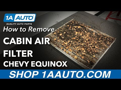 How to Replace Cabin Air Filter 10-17 Chevy Equinox