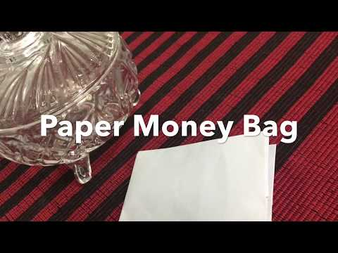 Paper Money Bag