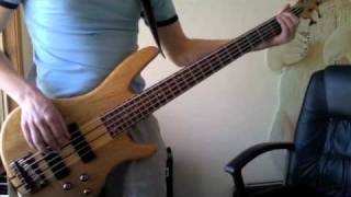 Alive and Kicking - Simple Minds (Bass Cover)