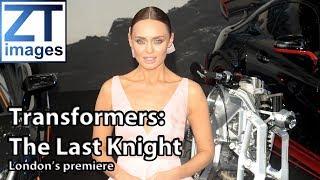 Mark Wahlberg Laura Haddock Josh Duhamel Film premiere Transformers: The Last Knight London UK