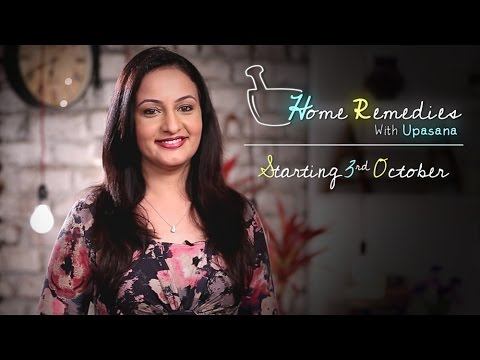 Home Remedies With Upasana | Starting 3rd October | Mind Body Soul