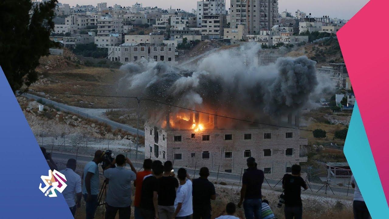قناة العربي:العربي اليوم│سلطات الاحتلال تواصل سياسة هدم بيوت الفلسطينيين