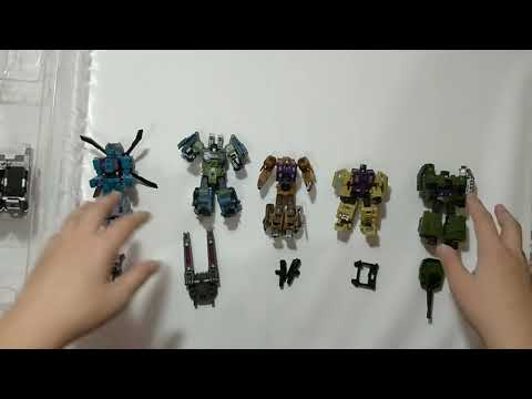Transformers Pocket Toys PT-05War Giant Bruticus Legends scale in stock New !