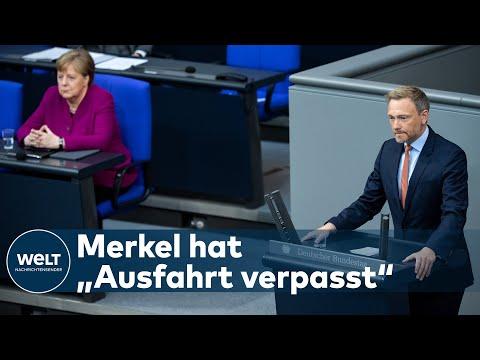 """CHRISTIAN LINDNER: """"Die Politik in Deutschland ändert sich um fünf nach zwölf"""""""