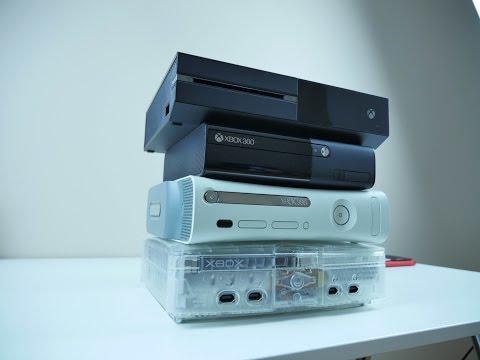 EVOLUTION of the XBOX Console
