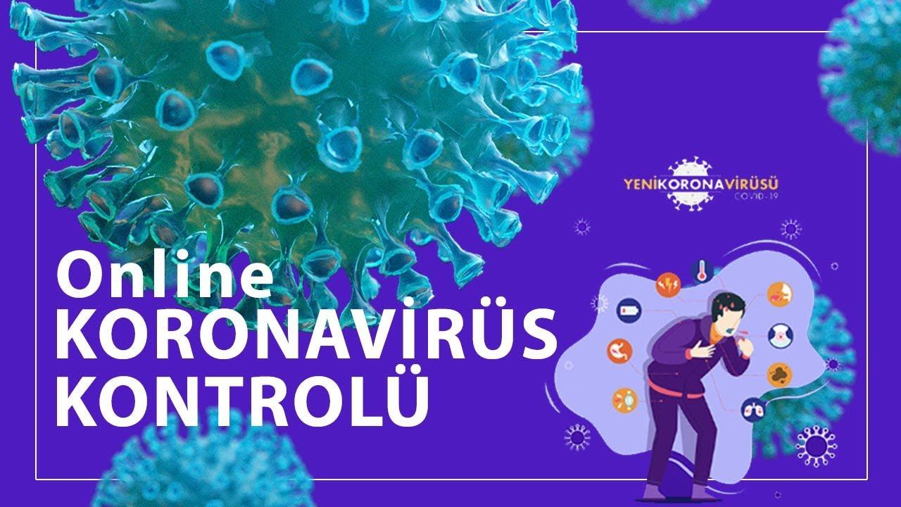 Online Corona Virüs Testi Nasıl Yapılır? #evdekal