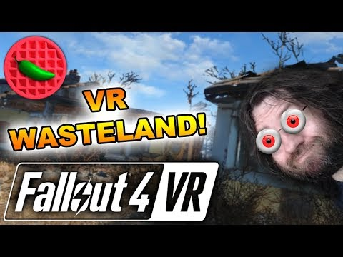 THE VIRTUAL WASTELAND VS CORWIN! -- Let's Play Fallout 4 VR (Part #1) (HTC Vive VR Gameplay)