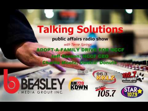Talking Solutions and the Adopt-A-Family Drive for NCCF