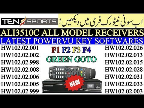ALI3510C ALL MODEL RECEIVERS LATEST VERSIONS SOFTWARES 2019