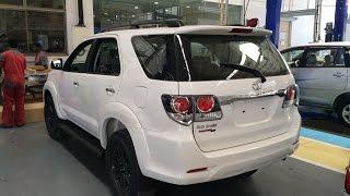 2015 Toyota Fortuner 3.0 4X4 MT Exterior (factory spec)