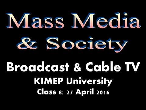 KNU Media & Society Class 8 -- TELEVISION