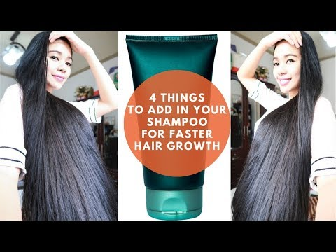 Best shampoo to make your hair grow longer and faster