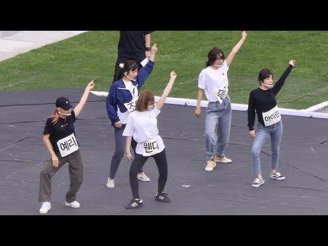 191004 레드벨벳 (Red Velvet) 파워 업 (Power Up) 사복리허설 (Rehearsal) [4K] 직캠 Fancam by Mera