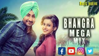 Punjabi mashup 2018 January ☼ Latest Bhangra Nonstop Dance Party DJ Mix #05