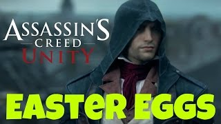 Assassin's Creed Unity Easter Eggs In Other Games - Watch Dogs, Brotherhood, Black Flag And More!